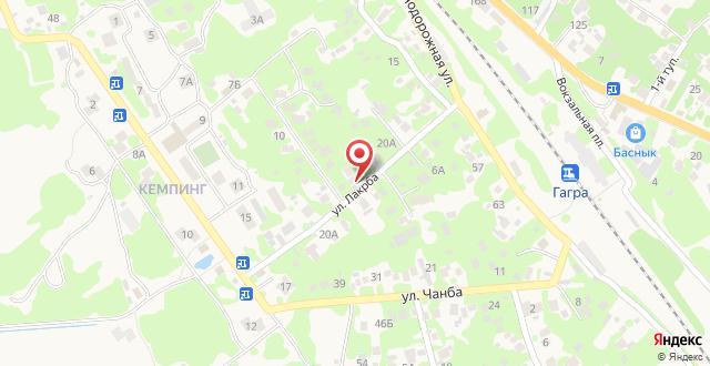 Мини-гостиница Ахчипсы на карте