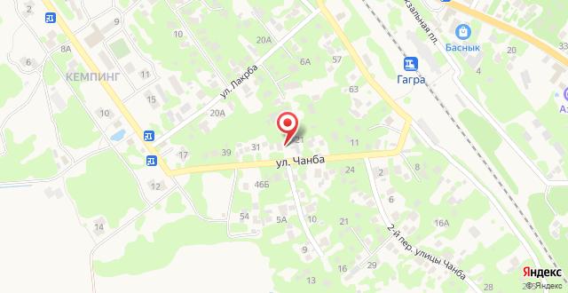 Отель Белис на карте