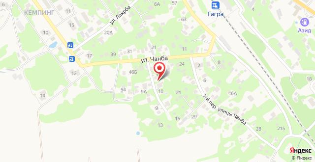 Гостевой дом Мане на карте