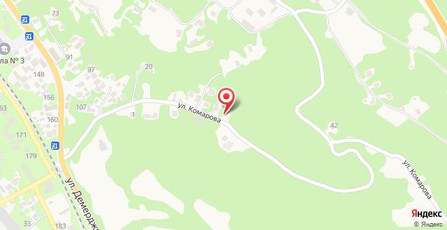 Мини-отель Вилла Романо на карте