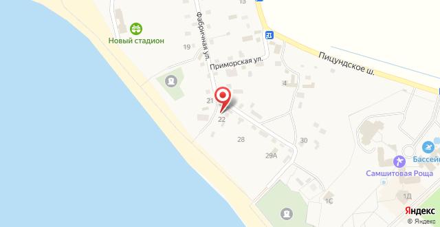 """Гостевой дом """"Даниэлла"""" на карте"""