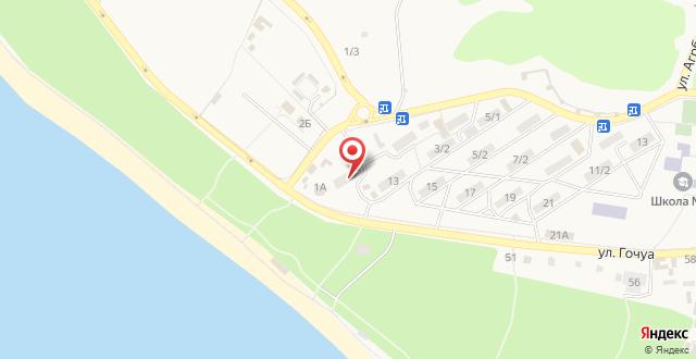 Гостевой дом Даниелла на карте
