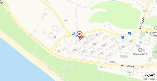 Guest House ARINA на карте