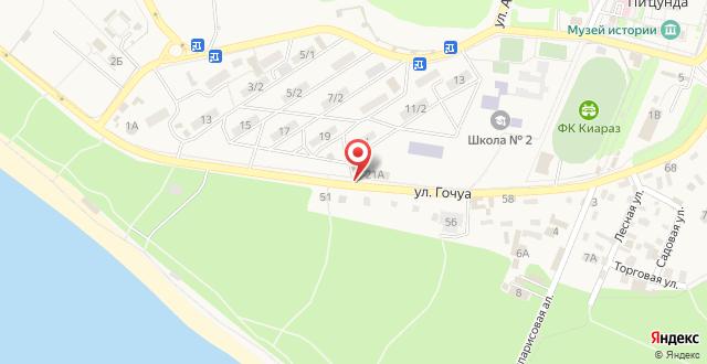 Гостевой дом Симона на карте