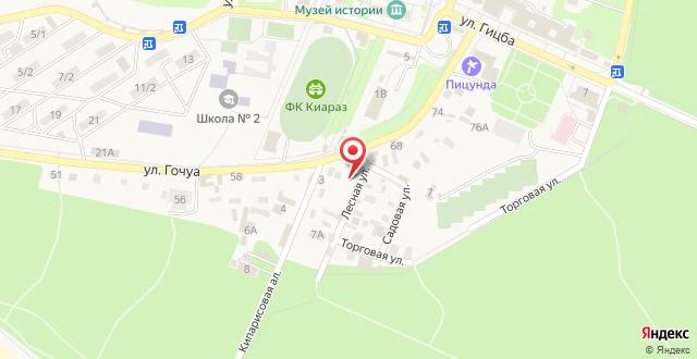 Guesthouse on Kiparisovaya alleya 5 на карте