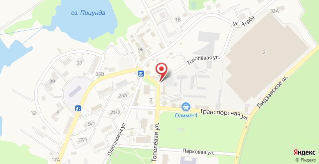 Гостевой дом ЛЕОН на карте