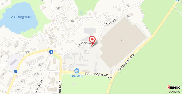 Гостевой дом Дамира на карте