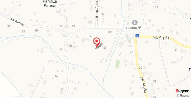 Гостевой дом Золотой берег на карте