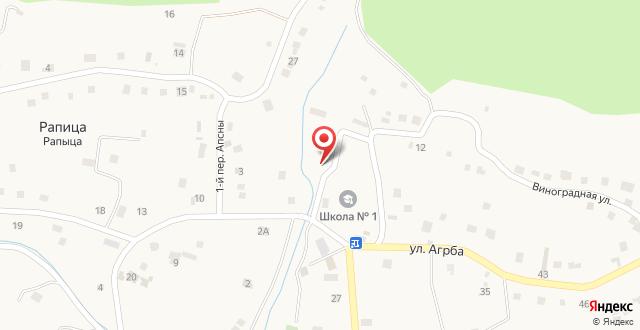 Guesthouse U Venery на карте