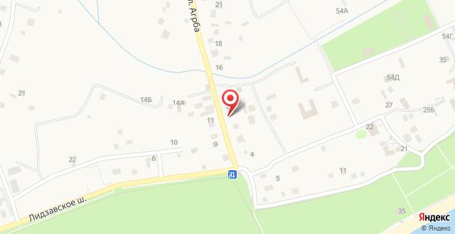 Отель Розмарин на карте