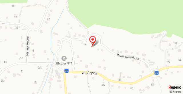 Mini-hotel Lazurnaya Buxta на карте