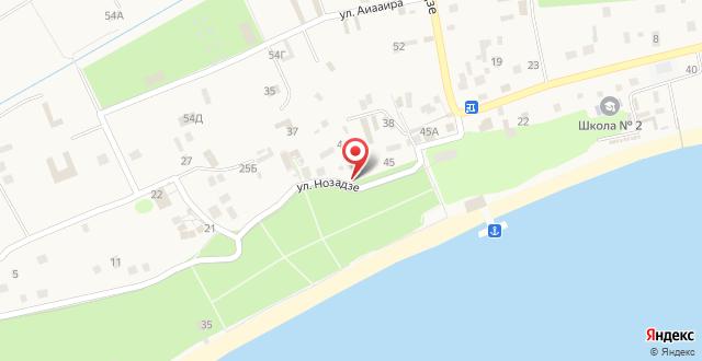 Гостевой дом У Ясона на карте