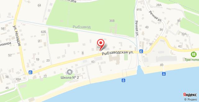 Гостевой дом Lucette на карте