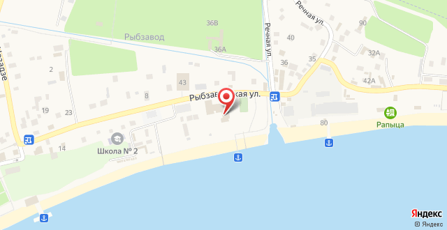 Апартаменты На Лидзава Бич на карте