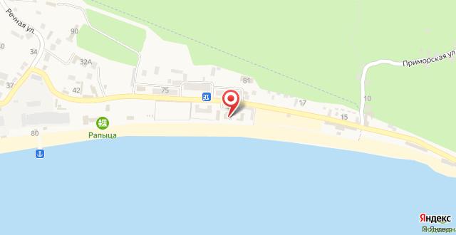 Отель Del Mar на карте