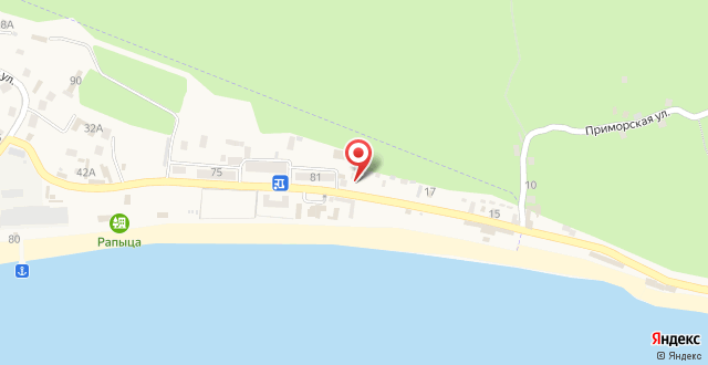 Гостевой дом Гера на карте