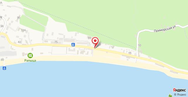 Отель Патрисия на карте