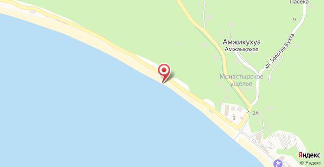 Отель Мраморный замок на карте