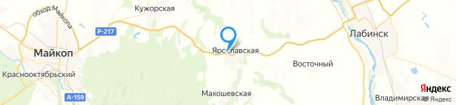 на Яндекс карте координаты 44.616078,40.448379
