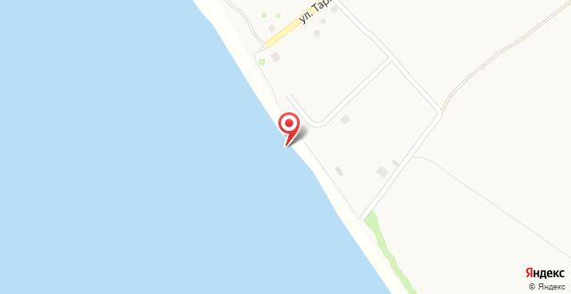 База отдыха Золотой Берег на карте