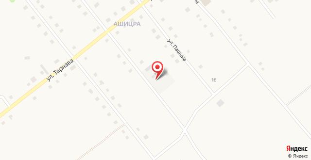 Гостевой дом Солнечный берег на карте