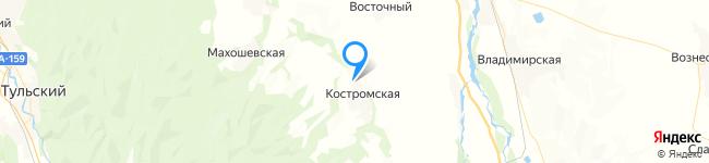 на Яндекс карте координаты 44.531972,40.581113