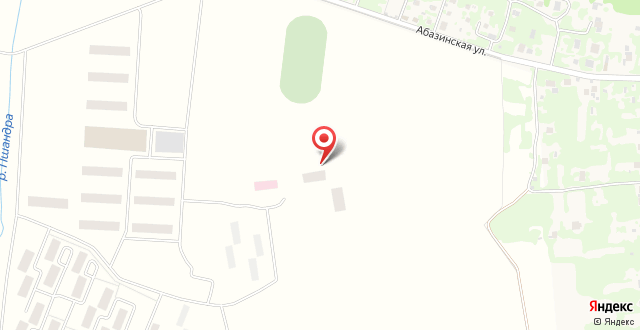 Отель Пшандра на карте