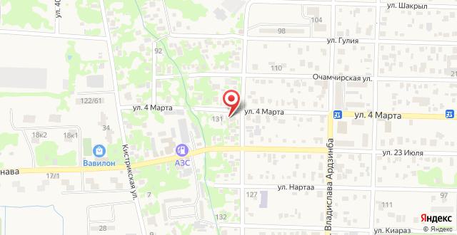Гостевой дом у Ларисы на карте