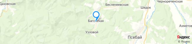 на Яндекс карте координаты 44.174064,40.614428