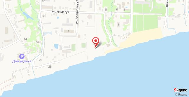 Гостевой дом Марина на карте