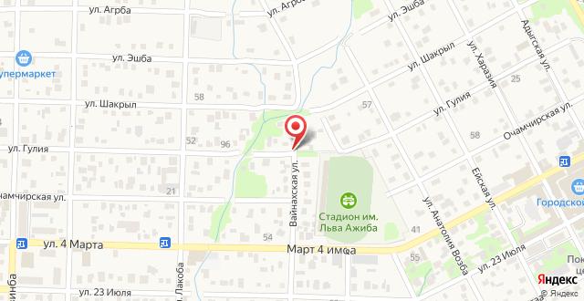 Гостевой дом Пикан на карте