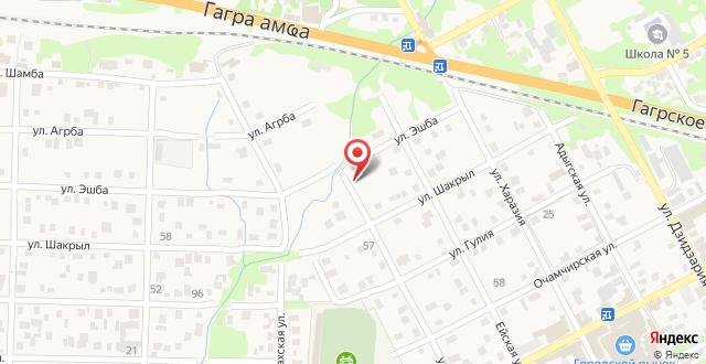 Гостевой дом Лермонтов на карте