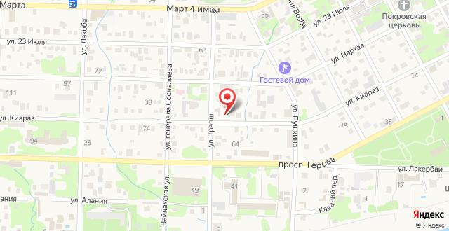 Гостевой дом Русалка на карте