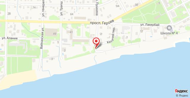 Гостевой дом Апсилия на карте