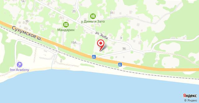 Гостевой дом У моря на карте