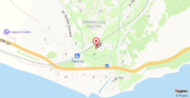 Гостевой дом Изумруд на карте