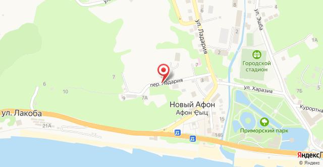 Отель Eco village на карте