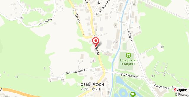 Guest House on Abovyana 46 на карте