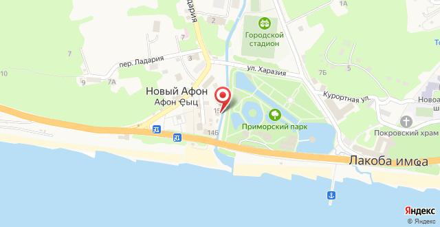 """Гостевой дом """"Радуга"""" на карте"""