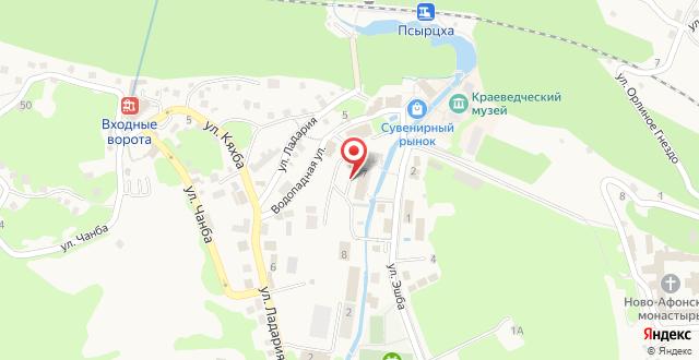 Отель Гриффон на карте