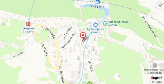 Гостиница Лернест на карте
