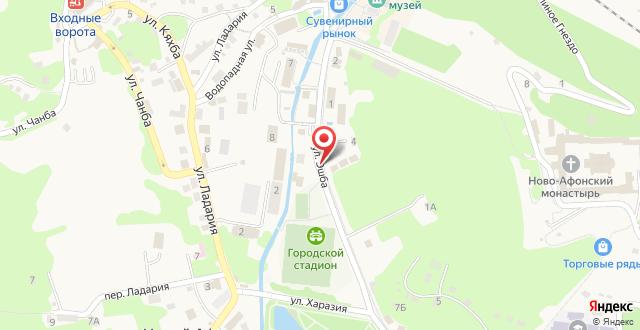 Гостиница Villa Oliva на карте