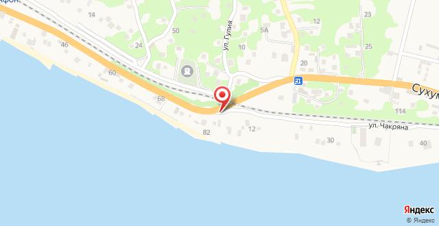Вилла Арго на карте