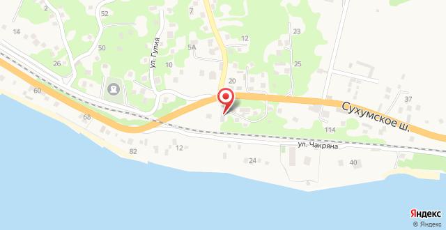 U Anzhely Guesthouse на карте