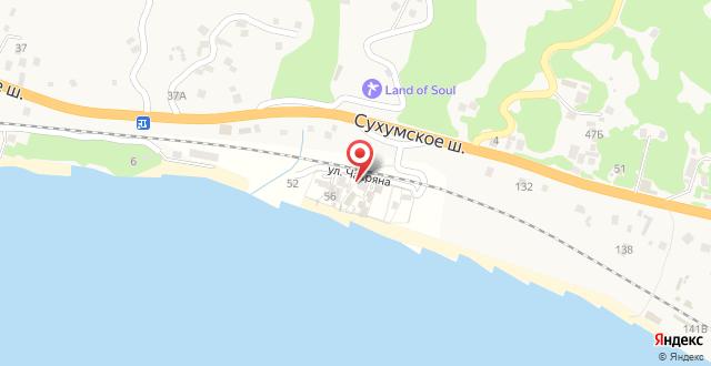 Гостевой Дом «Вилла Мария» на карте