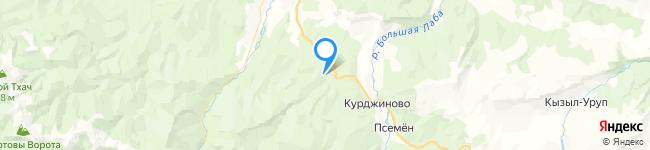 на Яндекс карте координаты 44.03918034567633,40.876799677375466