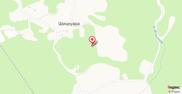 Гостевой дом Каштак на карте