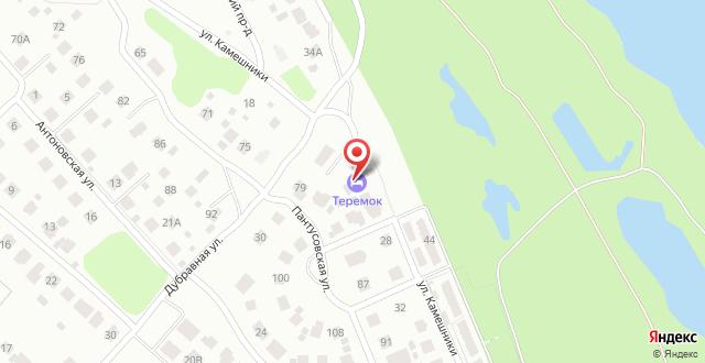 Дом для отпуска Теремок на карте