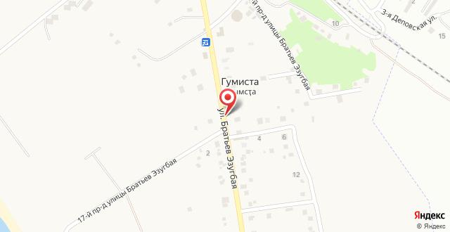 Дом отдыха На улице братьев Зантария 70 на карте