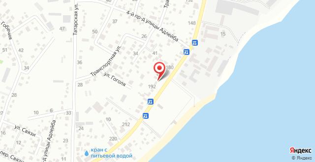 Гостевой дом На Адлейба 75 на карте